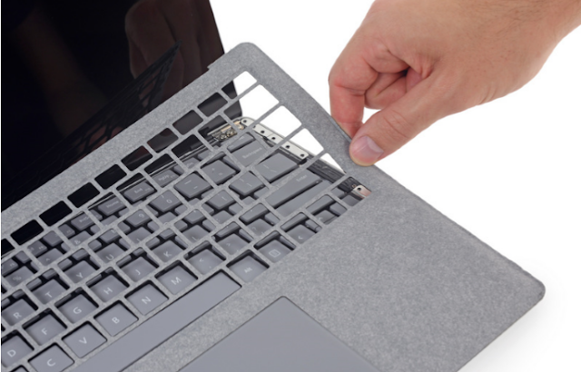 You can't Disassemble Microsoft Surface Laptop Without Inflicting a Damage on it