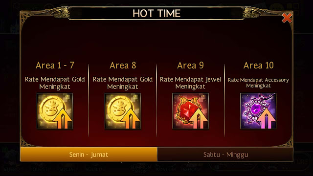 cara mudah dapat banyak gold