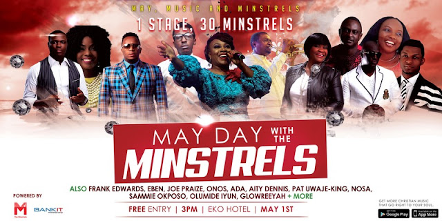 May Dy With Minstrels for Minstrels App