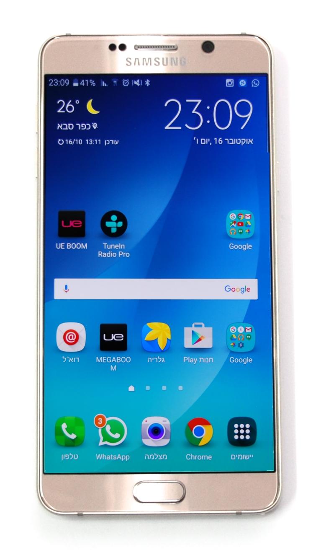צעיר חפיצים: כזה ניסיתי: Samsung Galaxy Note 5 NM-16