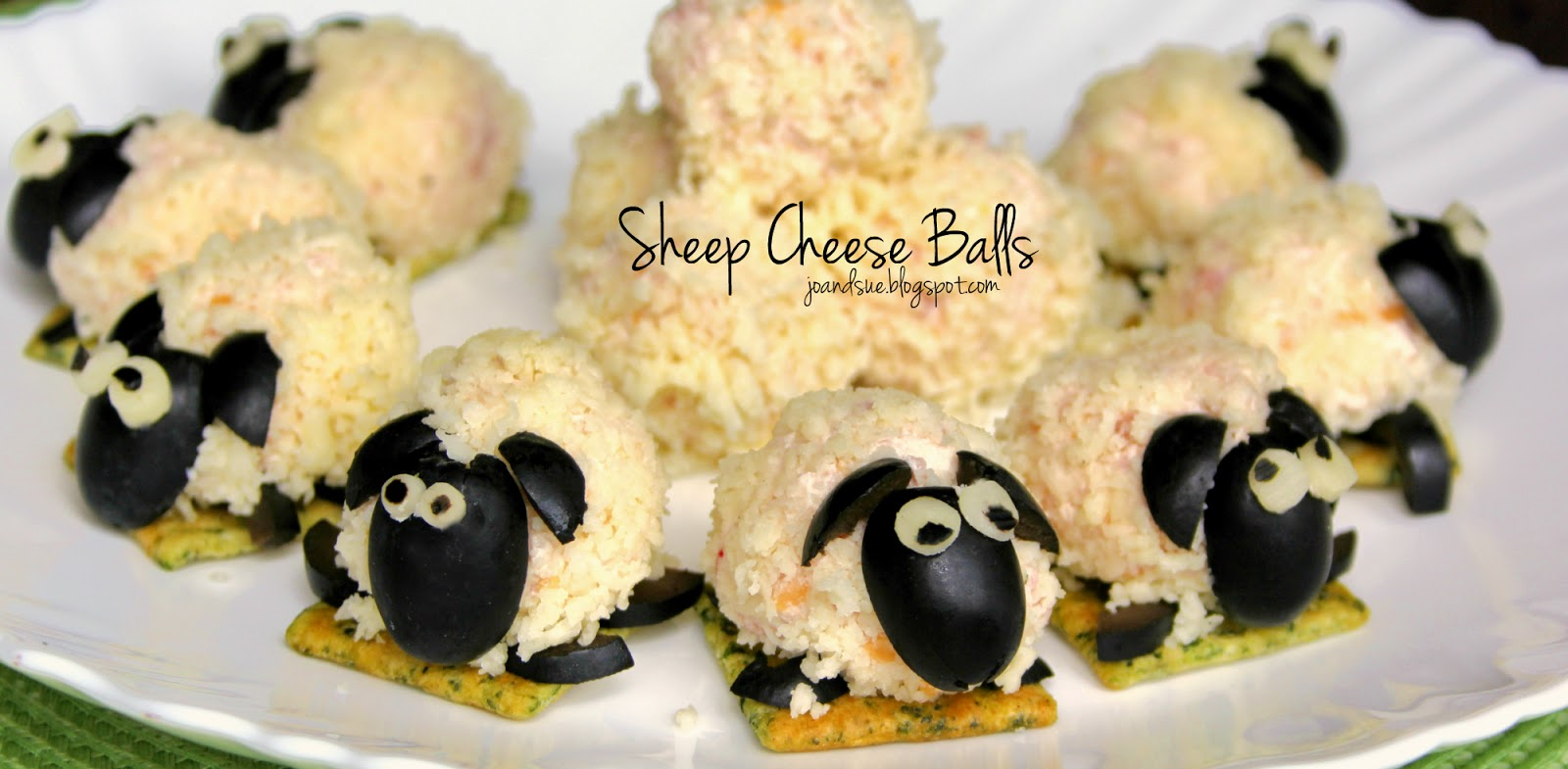 Jo and Sue: Sheep Cheese Balls