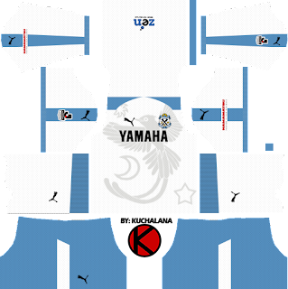 Jubilo Iwata ジュビロ磐田 Kits 2018 - Dream League Soccer Kits