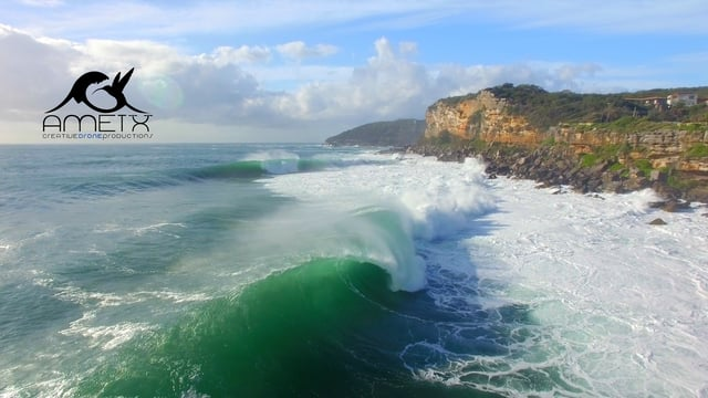 Big Swell at Fairy Bower Sydney
