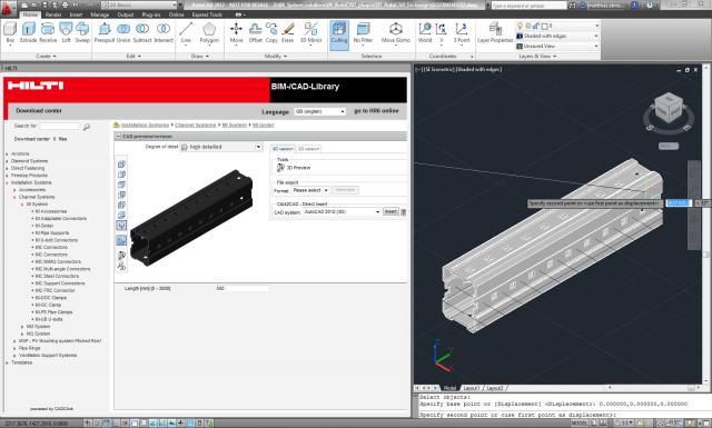 AutoCAD Add-ons: Free Hilti BIM/CAD Library