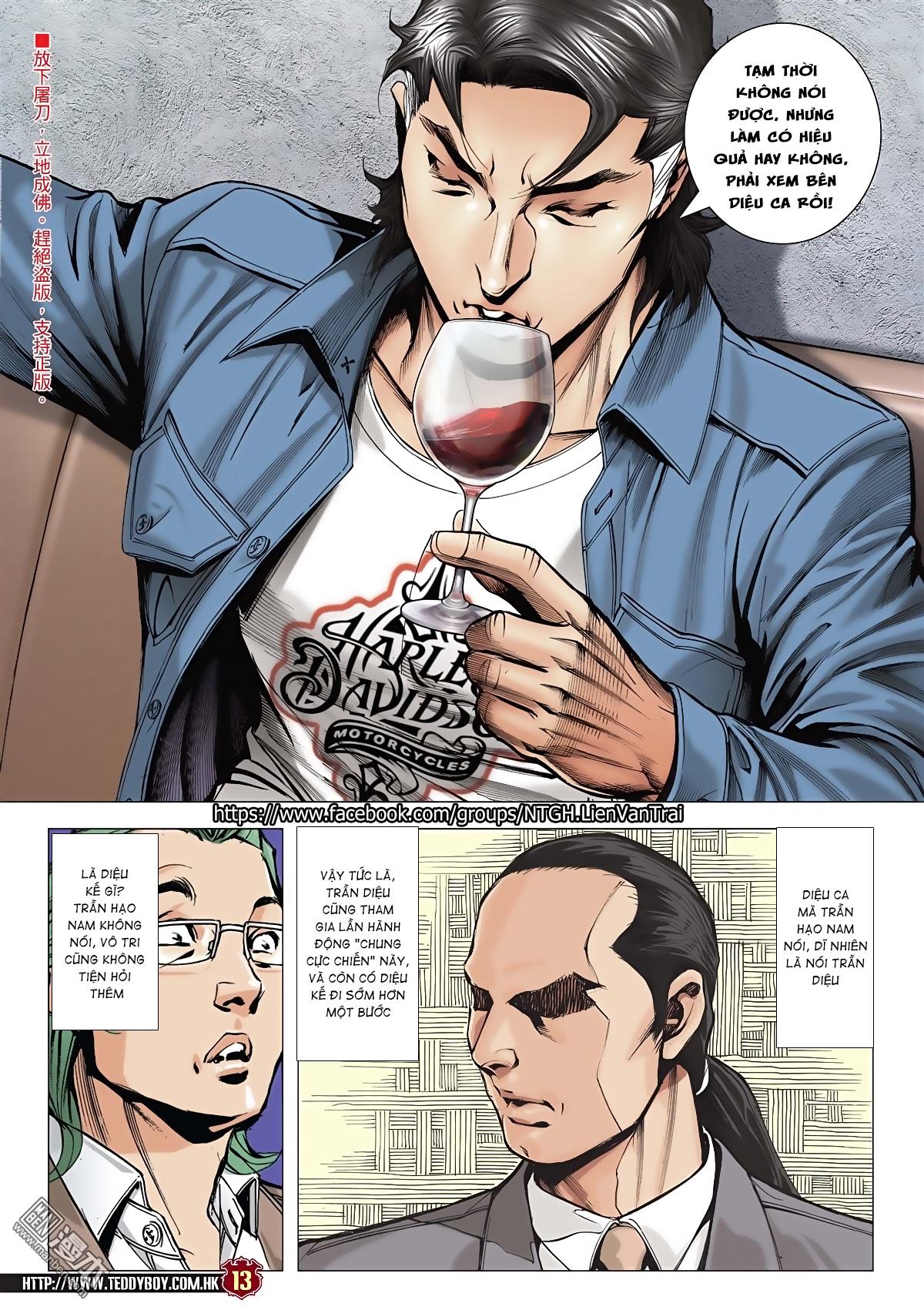 Người Trong Giang Hồ chapter 2045: câu chuyện thiên thu trang 12
