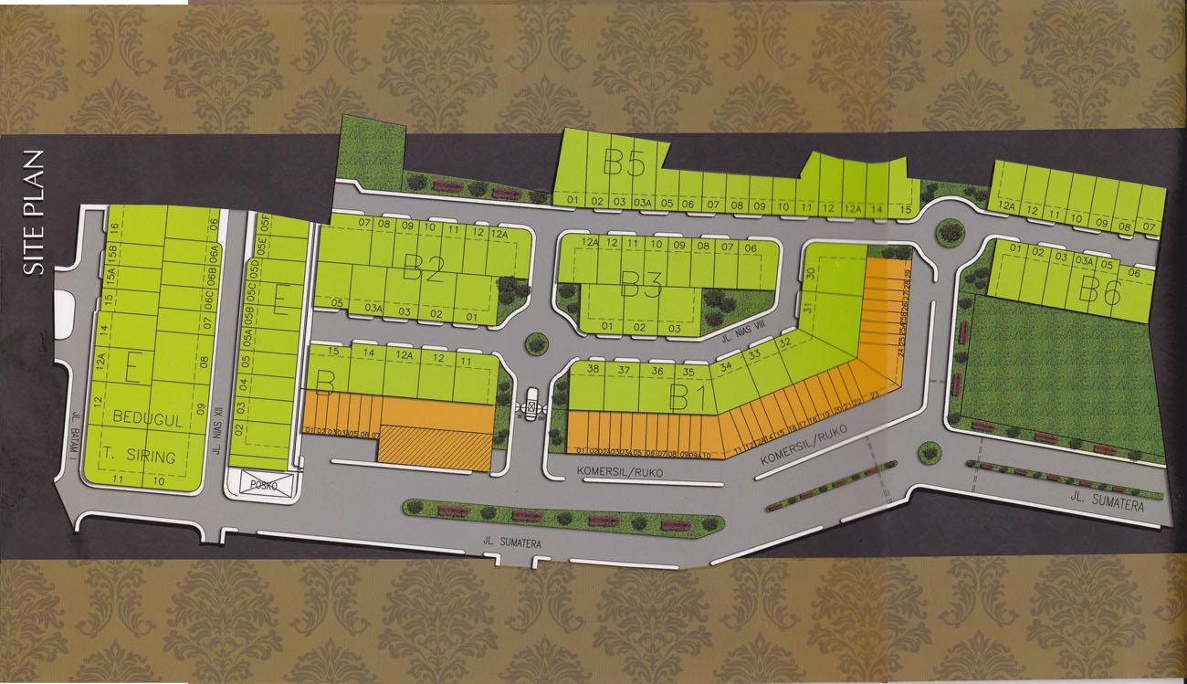 Site plan b residence