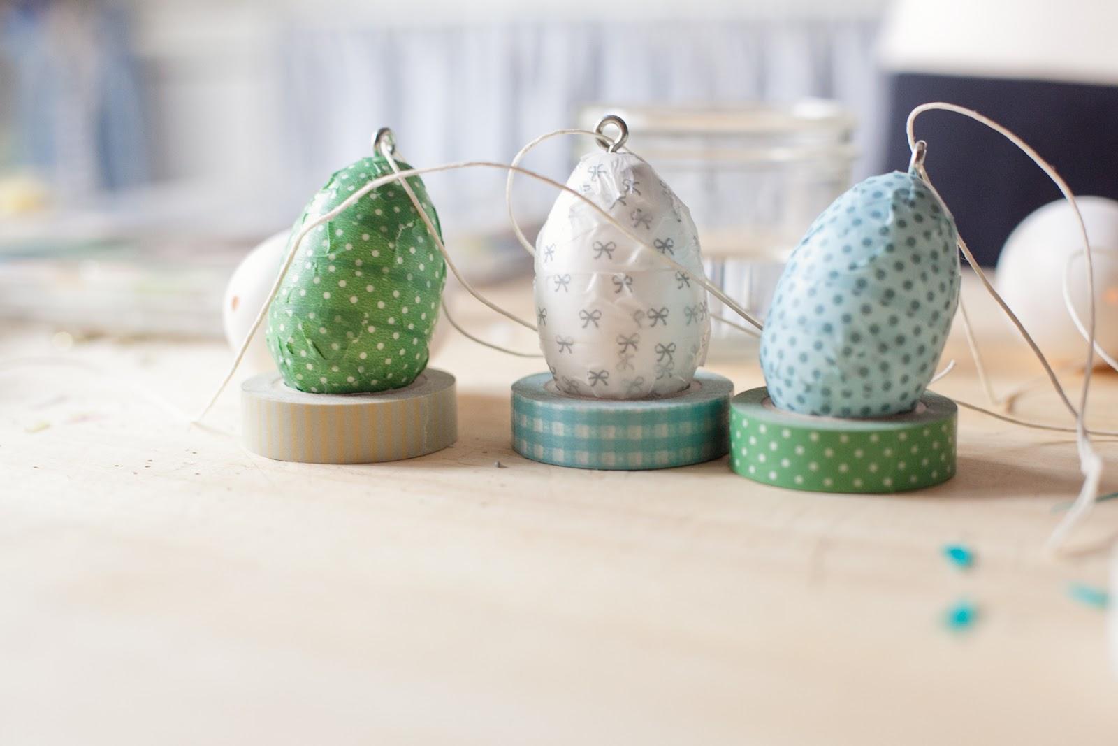 Risultati immagini per uova washi tape