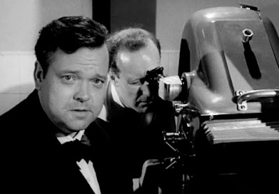 Orson Welles, American filmmaker, director of Citizen Kane