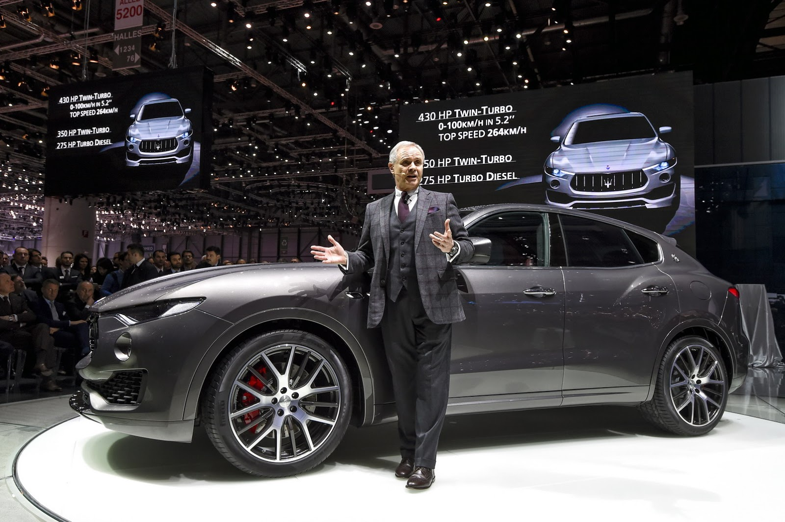 New Maserati Levante Suv Detailed In Geneva Just As