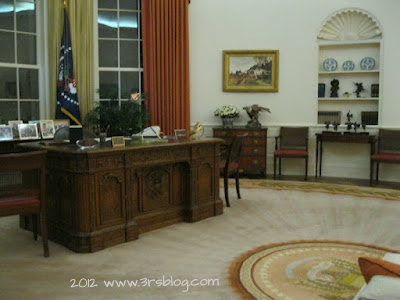 Reagan Library Oval Office re-creation