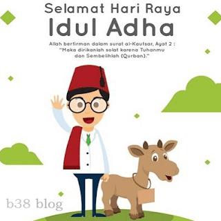 Gambar Unik dan Lucu Ucapan Selamat Idul Adha 2018