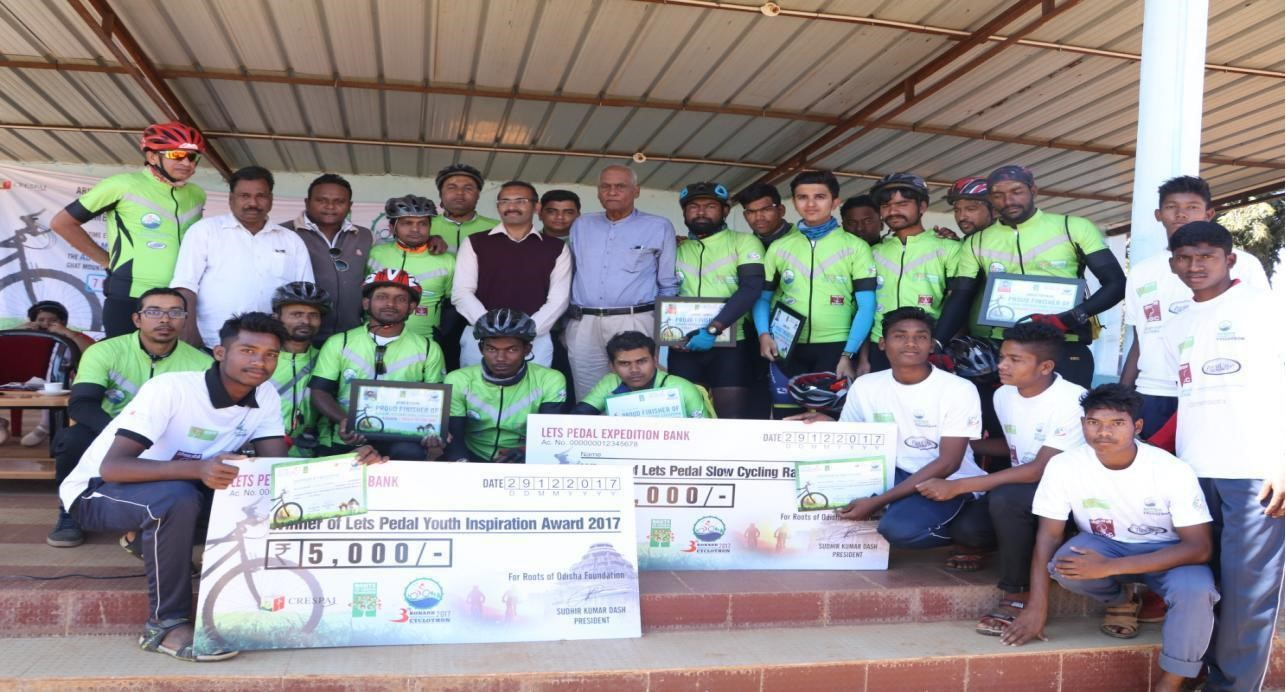 Konark Cyclothon 2017 in India: The team