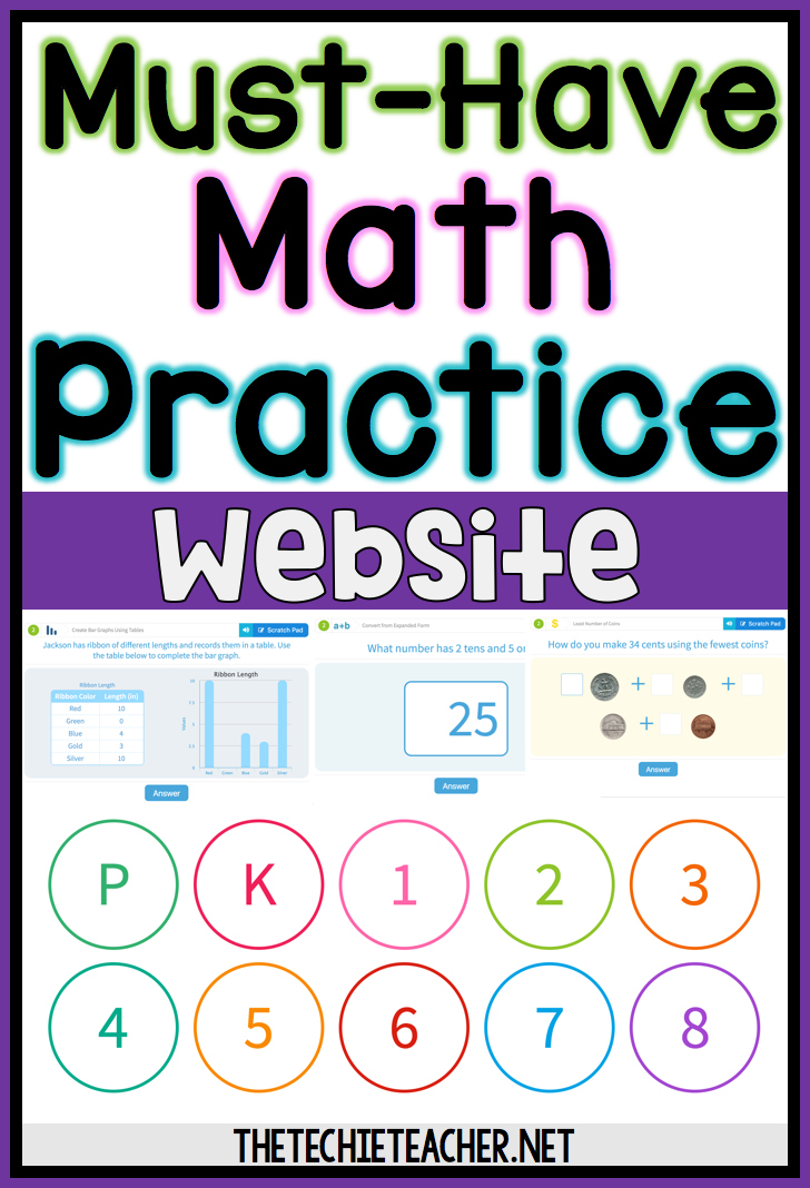 Must-Have Math Practice Website - The Techie Teacher®