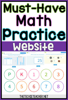 Must-Have Math Practice Website: Open-Ended Practice for PK-8th grade