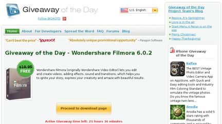 شرح تحميل برامج مدفوعة من موقع giveawayoftheday مجانا