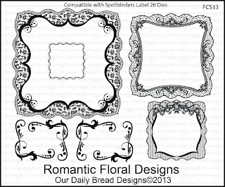 Our Daily Bread Designs, Romantic Floral