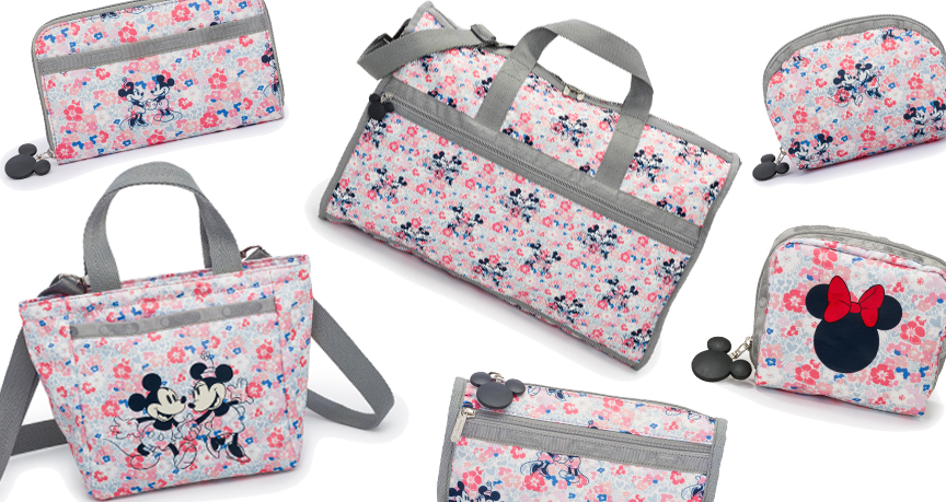 e9fb9cafcb Four new Disney patterns from LeSportsac - Disney Diary