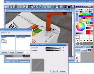 Pixia,logiciel gratuit pour  retoucher vos photos