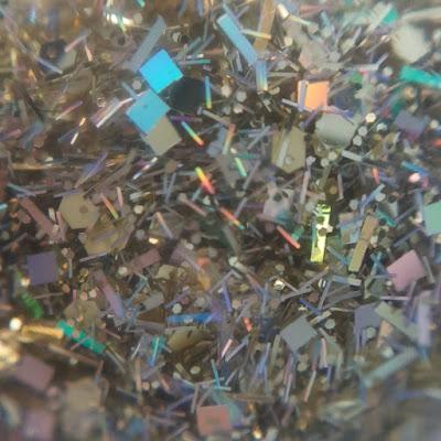glitter, unt, unt glitter polish, unt lacquer, unt polish, gold holo
