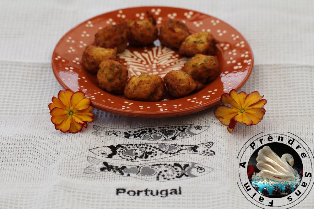 Acras de morue façon portugaise