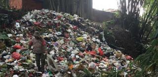 Volume Sampah di Karawang Meledak Pasca Lebaran