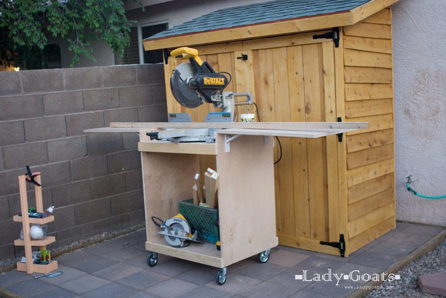Lady Goats Build It
