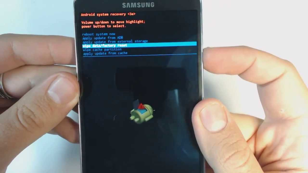 How to factory reset a Samsung Galaxy Note 8 - Mobile