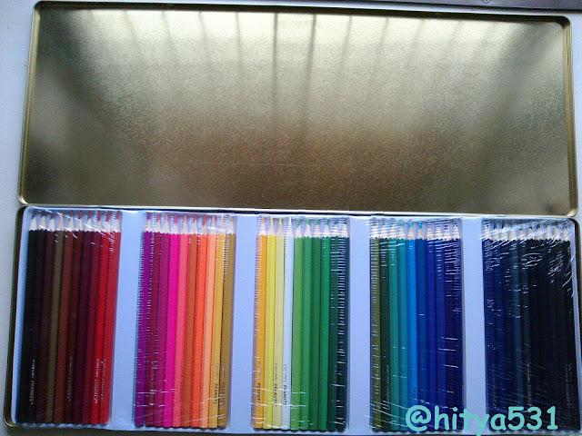 ドンキの50色色鉛筆_中身