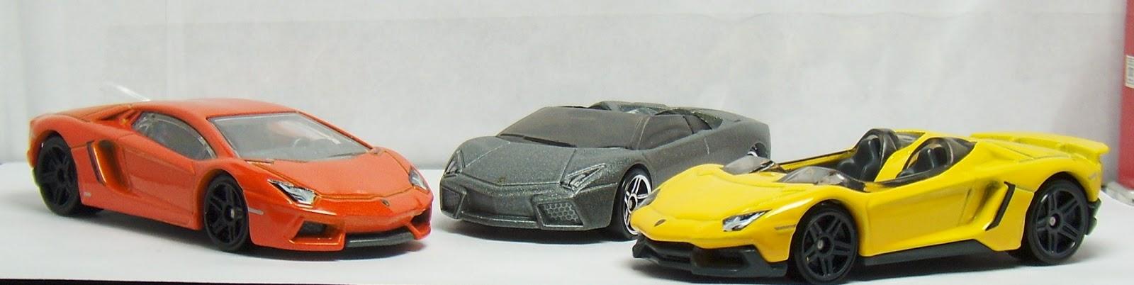 Hot Wheels Lamborghini Aventador Coupe J Concept And Reventon