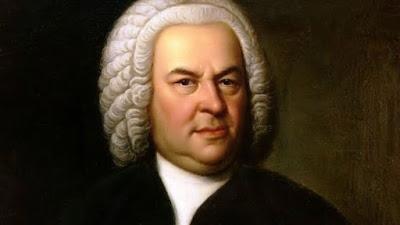 Detalhe do retrato de Bach aos 61 anos de idade, pintado por Elias Gottlob Haussmann em 1748, atualmente parte do acervo histórico do compositor em Leipzig, na Alemanha.
