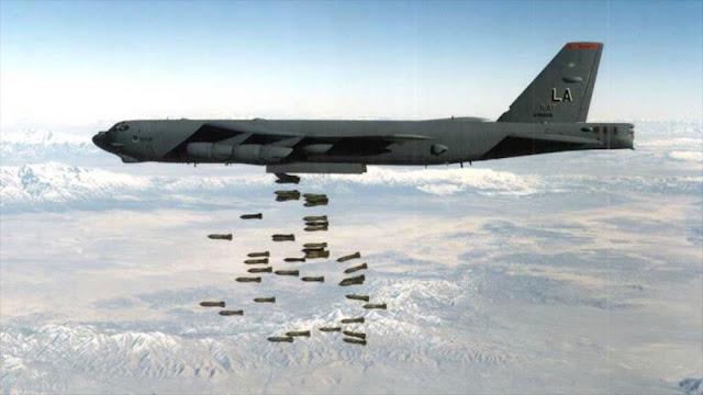 B-52 de EEUU bombardea Afganistán con un número récord de bombas