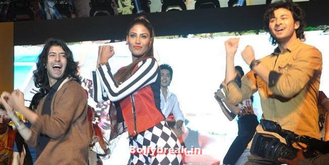 , Nicole Faria & Rakul Preet Singh for Yaariyan Promotion at Spinnathon