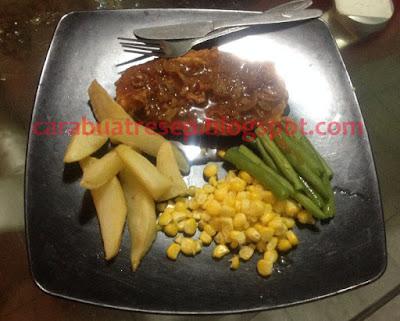 Foto Resep Steak Ayam Rumahan Sederhana Spesial Crispy Renyah Saus Lada Hitam Asli Enak