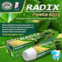radix pasta gigi hpa