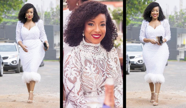 Photos: Screen-Goddess Joselyn Dumas Breaks The Internet As She Serves As 'Wedding Guest