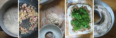 Zubereitung Speck-Walnuss-Zwiebel-Ring