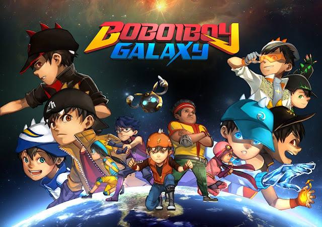 galaxy boboiboy poster