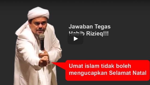 Ini Isi Ceramah Habib Rizieq Yang Dipolisikan Oleh Mahasiswa Kristen, Lihat Juga Video Lengkapnya!