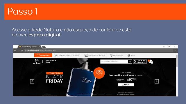 ESPAÇO  CONSULTOR  NATURA DIGITAL