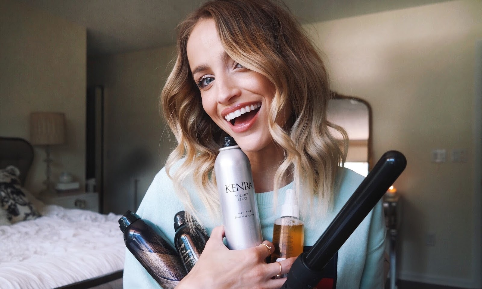 Styling Products For Voluminous Waves: Curl and Chill
