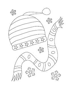 abbastanza La maestra Linda : Inverno da colorare WB97