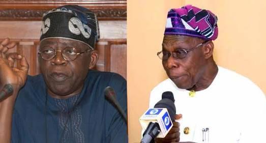 Tinubu Cries Out Obasanjo Wants To Return To Aso Rock