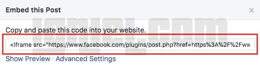 Cara Membuat Kotak Rating Bintang Facebook ke Dalam Website