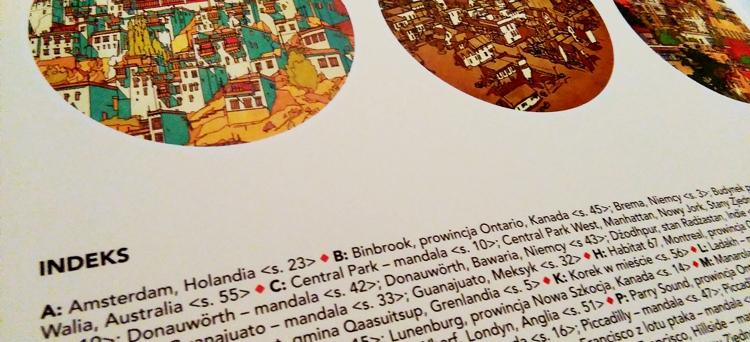 fantastyczne miasta kolorowanka dla dorosłych