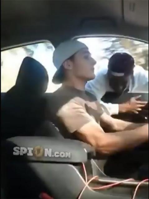 Intenta robar drogas y termina estrellando su automóvil