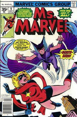 Ms Marvel #9, Death-Bird