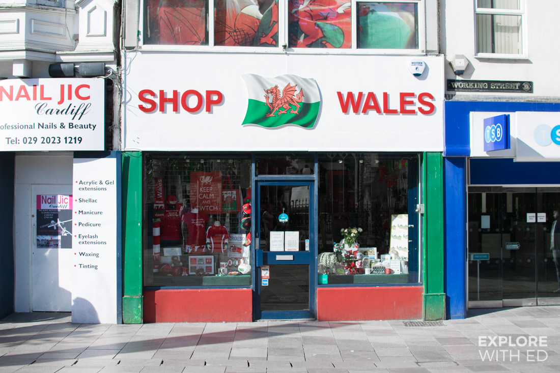 Shop Wales in Cardiff