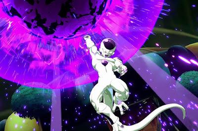 """Freezer y Krillin en """"Dragon Ball FighterZ""""."""