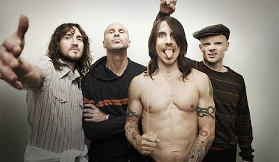 Banda de hard rock Red Hot Chili Peppers