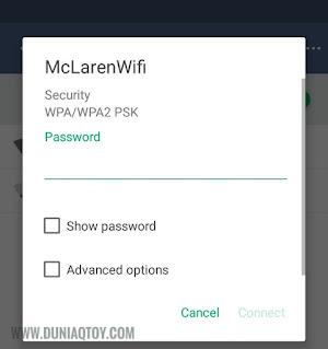cara menghapus daftar wifi